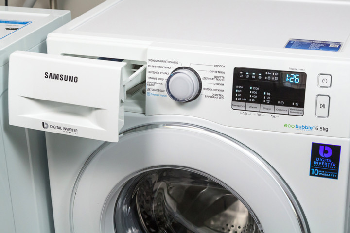 Стиральная машина Samsung WW65J42E0JW