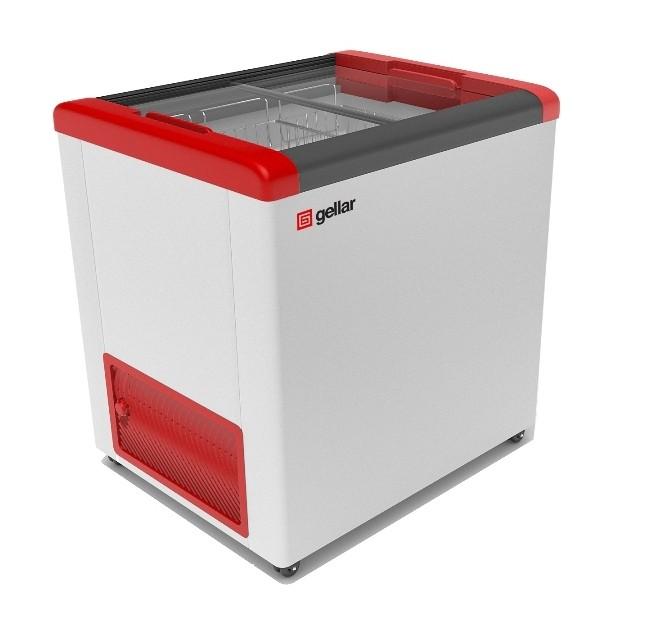Морозильный ларь Frostor Gellar FG 250 C красный