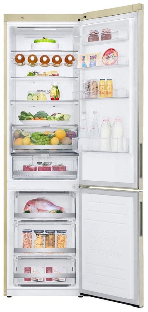 Холодильник LG DoorCooling+ GA-B 509 CEDZ