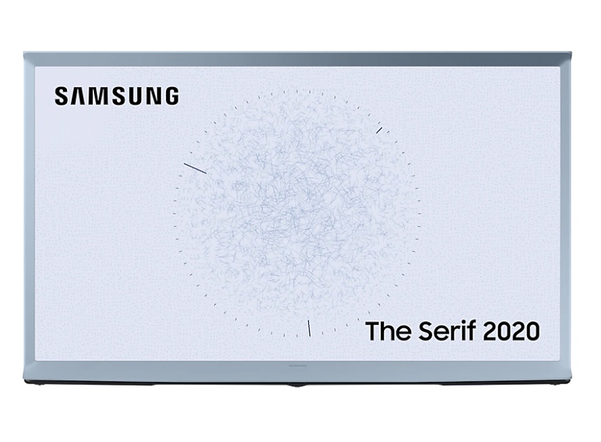 Телевизор QLED Samsung The Serif QE43LS01TBU 43″ (2020)