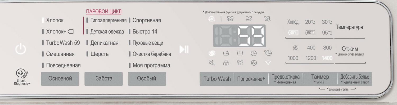 Стиральная машина LG F4T9VSBB