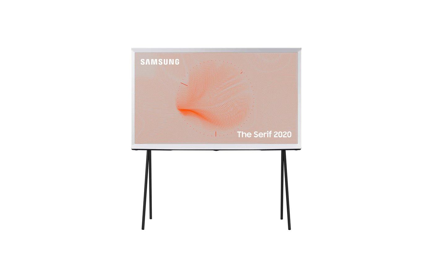 Телевизор QLED Samsung The Serif QE43LS01TAU 43″ (2020), облачный