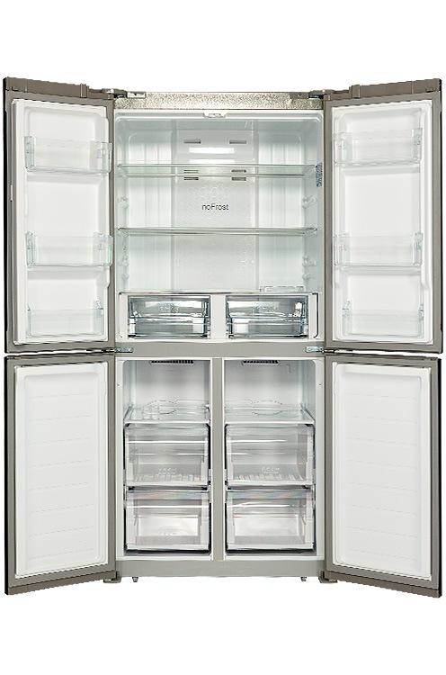 Холодильник HIBERG RFQ-490DX NFGR