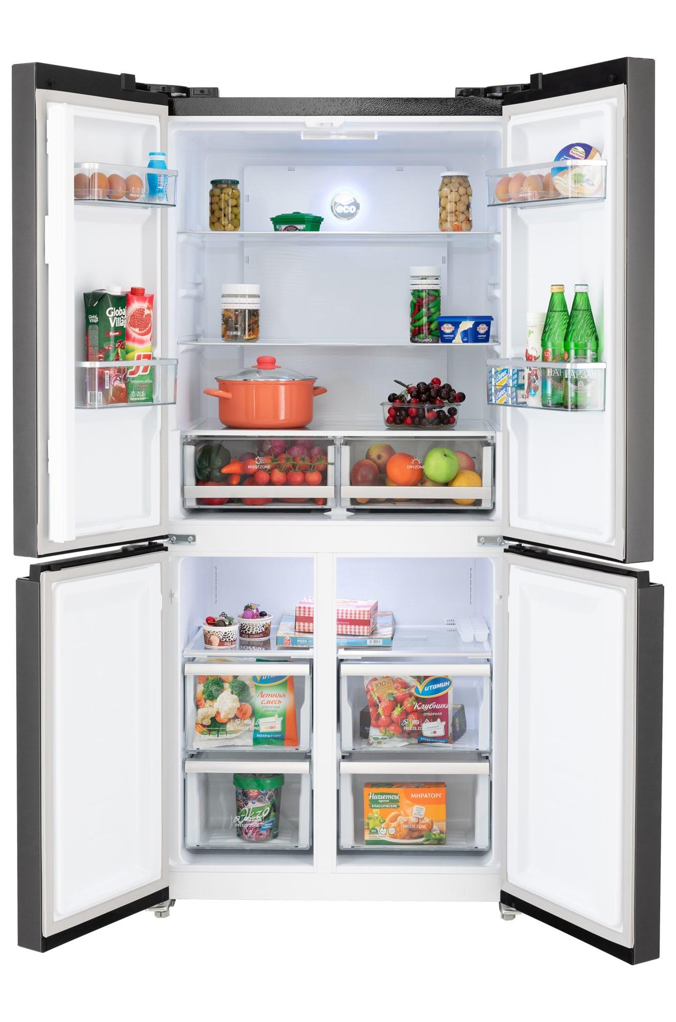 Холодильник HIBERG RFQ-490DX NFB