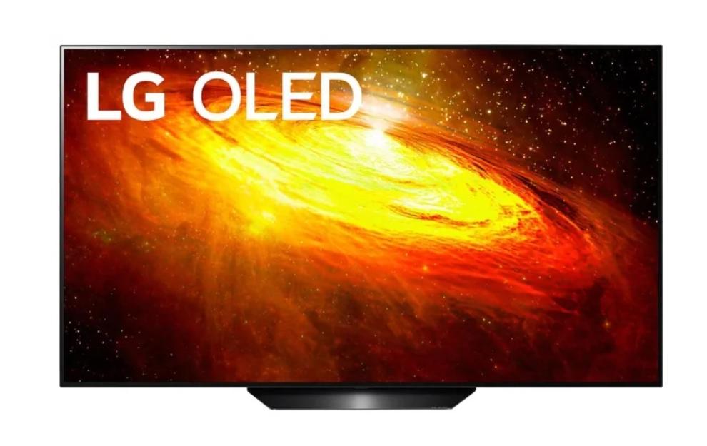 Телевизор OLED LG OLED55BXRLB 55″ (2020), черный