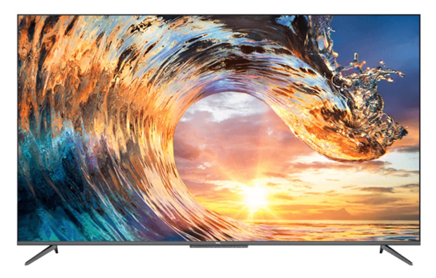 Телевизор LED TCL 55P717 4K Smart черный