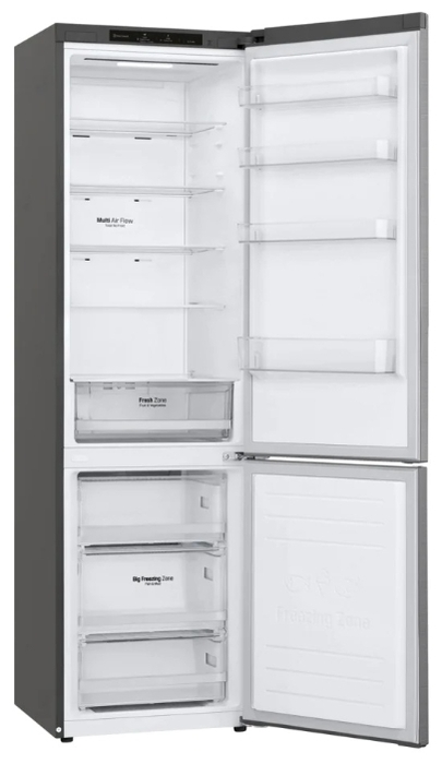 Холодильник LG GA-B509 MMZL серебро (FNF)
