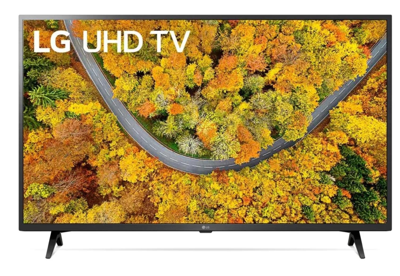 Телевизор LG 43UP76006LC 43″, черный