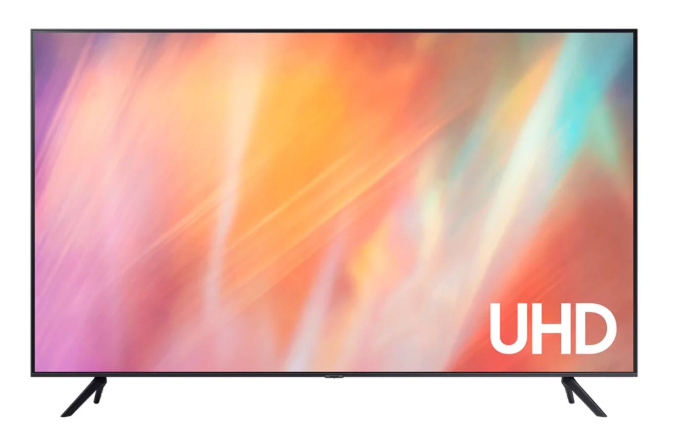 Телевизор Samsung UE43AU7100U 42.5″ (2021), черный
