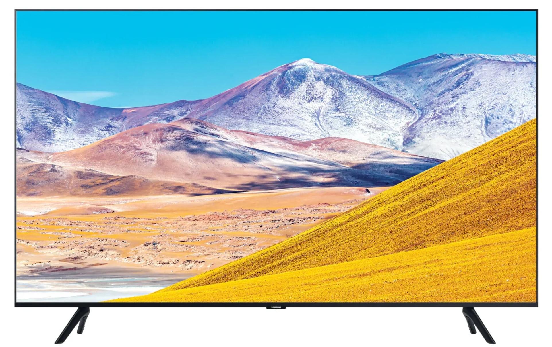 Телевизор Samsung UE55TU8000U 55″ (2020), черный
