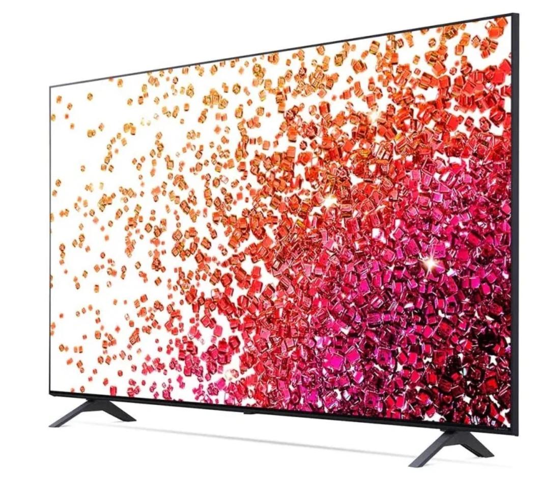 Телевизор NanoCell LG 50NANO756PA 50″ (2021), черный